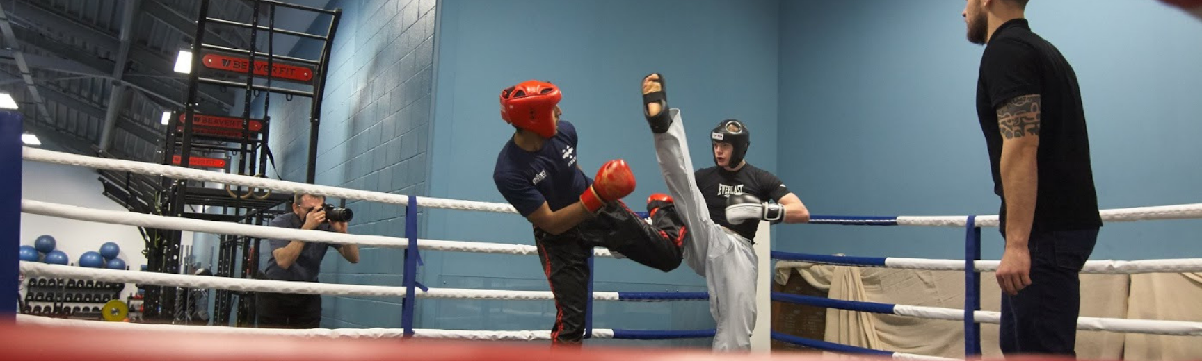 kickboxing banner