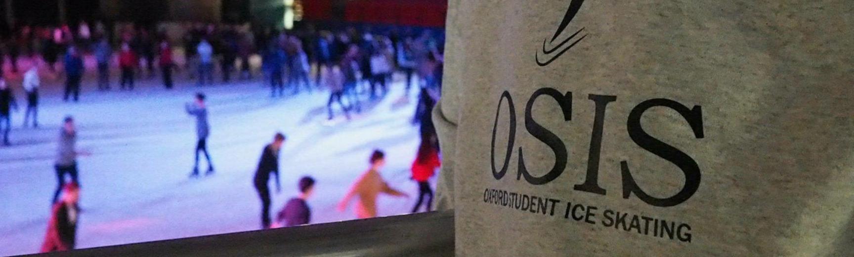 ice skating banner