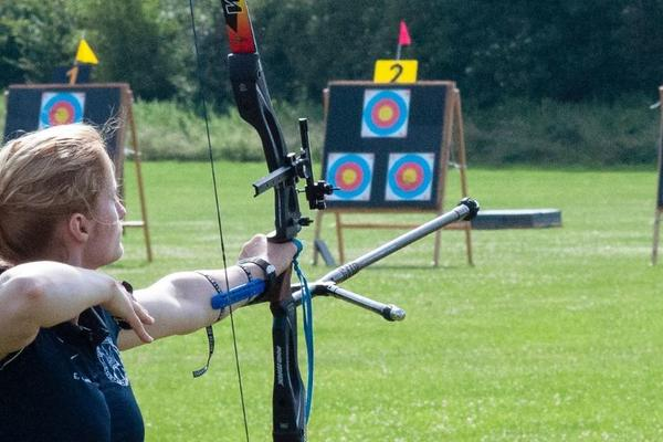 Archery Action Shot